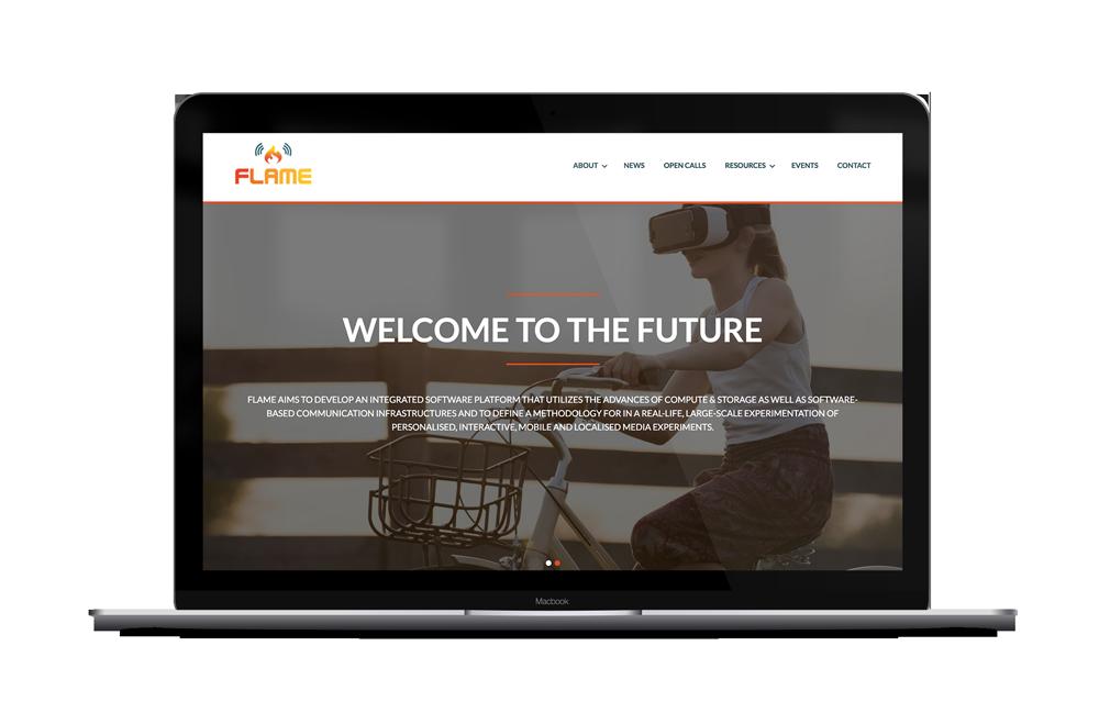 ICT FLAME website